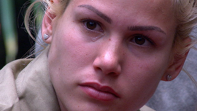 Tränen flossen bei Angelina immer häufiger. (Bild: RTL/Stefan Menne)