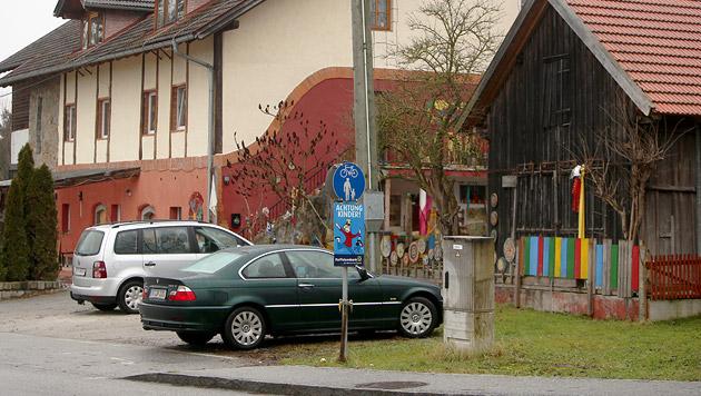 In diesem Gebäude befindet sich der Kindergarten, in dem es zum Cobra-Einsatz kam. (Bild: Daniel Scharinger)