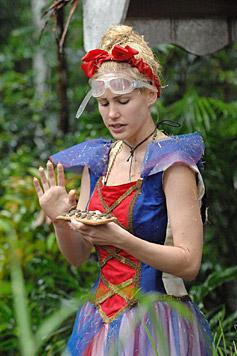 Angelina kann diesen Lebkuchen nicht essen. (Bild: RTL/Stefan Menne)