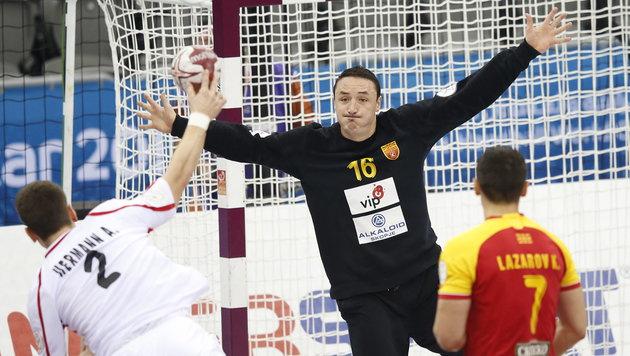 Österreich unterliegt Mazedonien mit 31:36 (Bild: APA/Qatar 2015 via epa/Ali Haider)