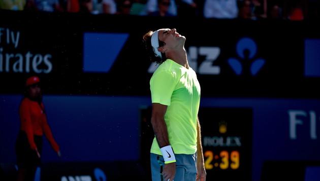 Roger Federer blamiert sich gegen Südtiroler Seppi (Bild: APA/EPA/LUKAS COCH)