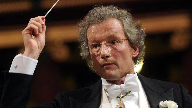 Dirigent Franz Welser-Möst (Bild: APA/HERBERT PFARRHOFER)