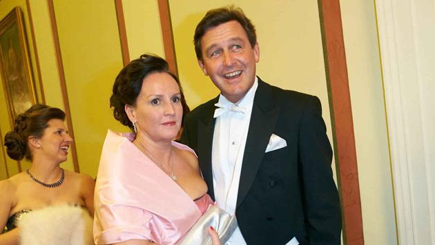 Peter Hanke und Frau (Bild: Starpix/Alexander Tuma)