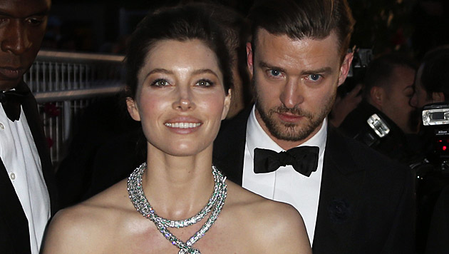 Jessica Biel und Justin Timberlake sind nun Eltern. (Bild: GUILLAUME HORCAJUELO/EPA/picturedesk.com)