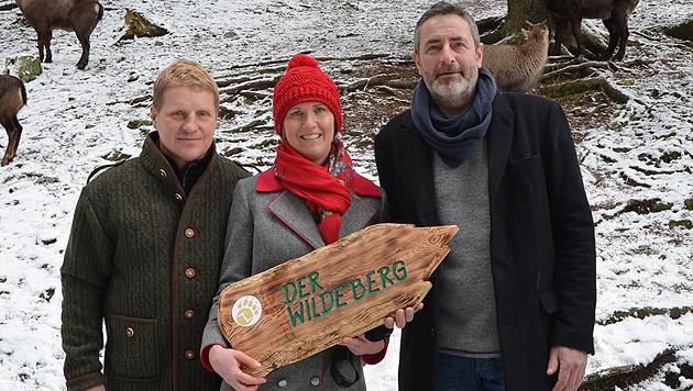 Dieses Projektteam bringt Know-how: Andreas Spöcker, Tanja Kriechbaum und Reinfried Prugger. (Bild: Jakob Traby)