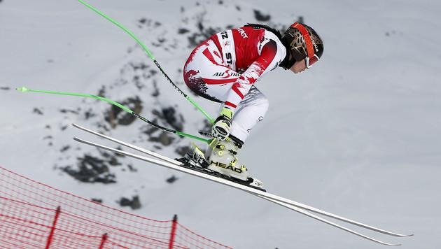 Anna Fenninger stark! Nur Lara Gut schneller (Bild: AP)