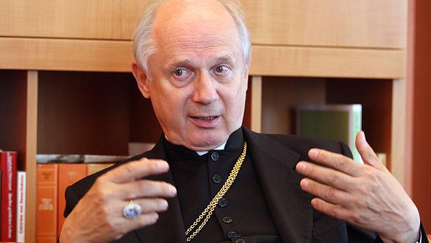 Egon Kapellari ist mit 33 Dienstjahren der dienstälteste Bischof Österreichs. (Bild: APA/MARKUS LEODOLTER)