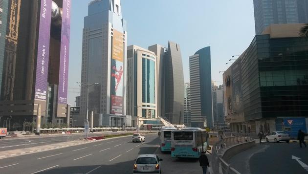 Doha: Die Sporthauptstadt der Zukunft (Bild: Stefanie Riegler)