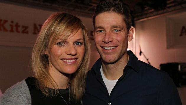 Marlies Schild und Benjamin Raich haben geheiratet (Bild: Kristian Bissuti)