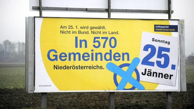 Gemeinderatswahlen in Niederösterreich (Bild: APA/Herbert Pfarrhofer)