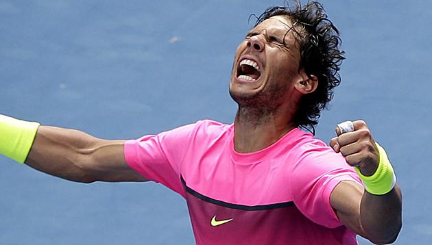 """Nadal mit Einzug ins Viertelfinale """"glücklich"""" (Bild: APA/EPA/Barbara Walton)"""