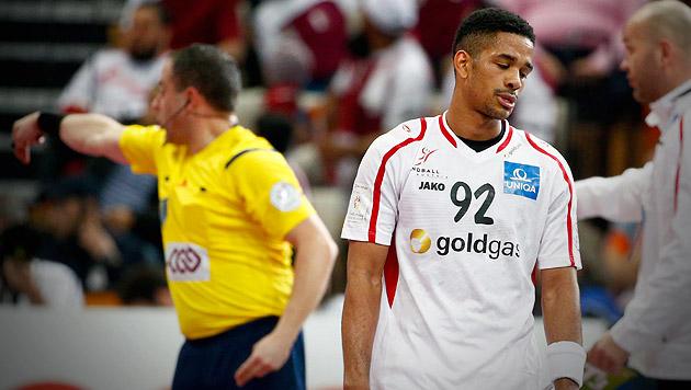 Österreich von Referees und Katar aus WM gekickt! (Bild: APA/Qatar 2015 via epa/Diego Azubel)