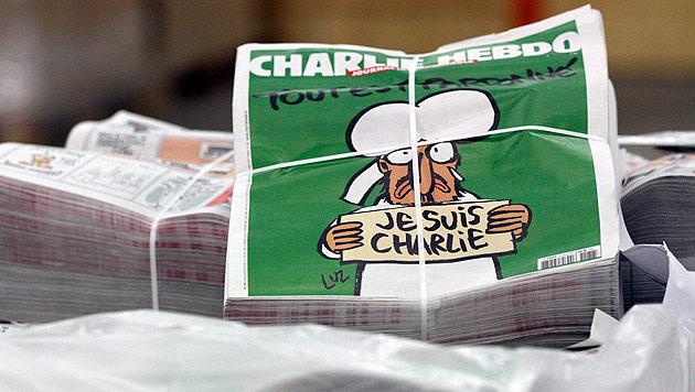 """""""Charlie Hebdo"""" sorgt mit Titelseite für Aufregung (Bild: APA/EPA/EDDY LEMAISTRE)"""