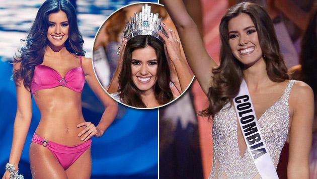 "22-jährige Kolumbianerin ist ""Miss Universe"" (Bild: APA/EPA/RHONA WISE, AP)"