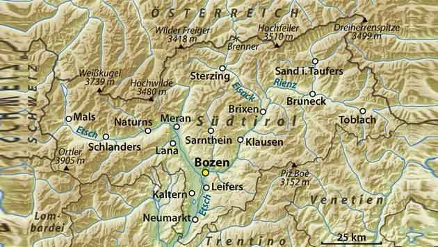 Bahn | Zugunglück in Südtirol - zwei Tote und mehrere Verletzte