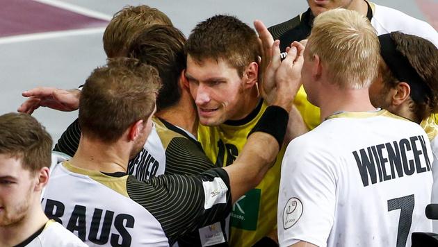 Deutschland und Polen im Viertelfinale (Bild: APA/Qatar 2015 via epa/Diego Azubel)