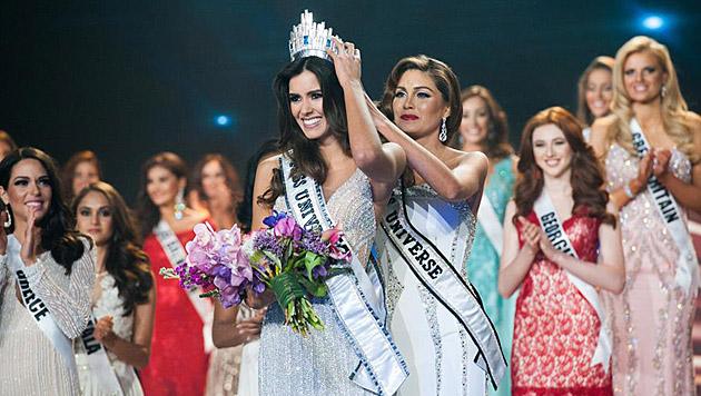 """Miss Columbia"" wurde zur ""Miss Universe"" gekrönt. (Bild: Miss Universe)"