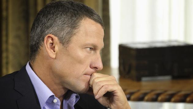 "Lance Armstrong: ""Würde wieder dopen"" (Bild: AP/George Burns)"