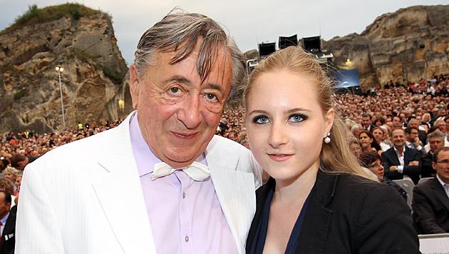 Richard Lugner und Tochter Jacqueline (21) - sie will lieber andere Wege gehen. (Bild: Peter Tomschi)