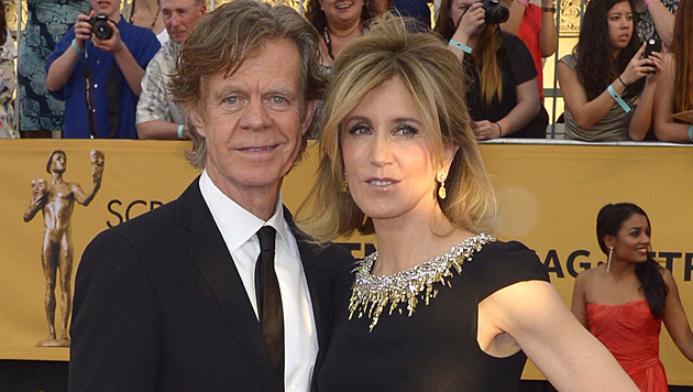 William H. Macy und Felicity Huffman (Bild: APA/EPA/PAUL BUCK)