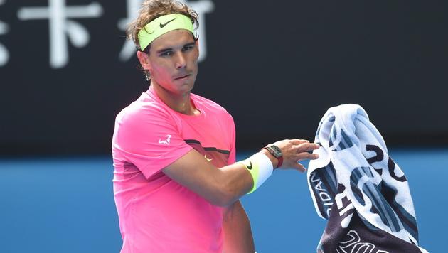 Debakel: Rafael Nadal scheitert an Tomas Berdych (Bild: APA/EPA/FILIP SINGER)