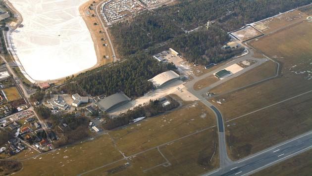 Der Fliegerhorst Nittner nahe Graz (Bild: APA/BMLVS)