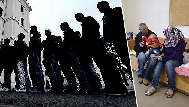 Jetzt droht totales Chaos im Asyl-Konflikt (Bild: APA/HANS KLAUS TECHT)