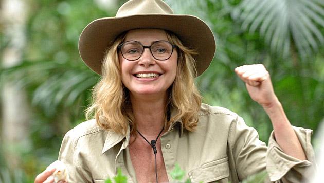 Yeah! Maren wird zur Heldin dieser Dschungelprüfung. (Bild: RTL/Stefan Menne)