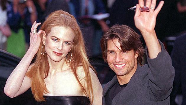 Nicole Kidman und Tom Cruise waren von 1990 bis 2001 verheiratet. (Bild: Kay Nietfeld/EPA/picturedesk.com)