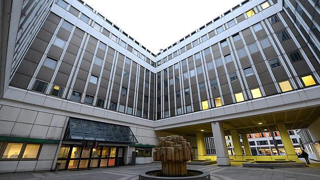 Das Asyl-Notquartier in Wien-Erdberg (Bild: APA/HELMUT FOHRINGER)