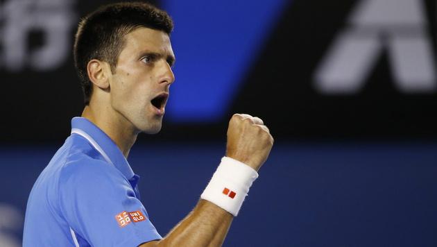 Djokovic folgt Wawrinka ins Halbfinale (Bild: APA/EPA/MADE NAGI)