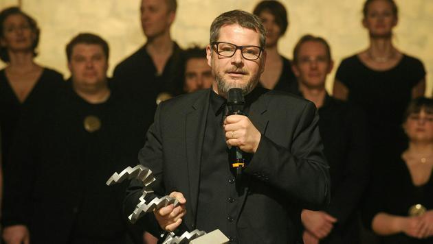 "Andreas Prochaska, Preisträger der Kategorie ""Beste Regie"" (Bild: APA/HERBERT PFARRHOFER)"