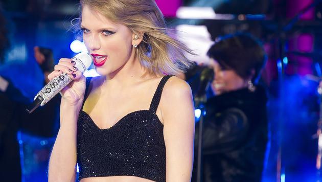 Taylor Swift: Keine Angst wegen Nacktfoto-Drohung (Bild: Charles Sykes/Invision/AP)