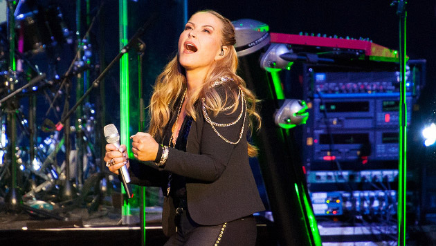 Anastacia feierte in Wien das (Über-)Leben (Bild: Andreas Graf)