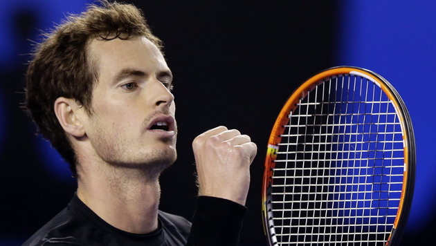 Andy Murray steht im Finale der Australian Open (Bild: APA/EPA/Barbara Walton)
