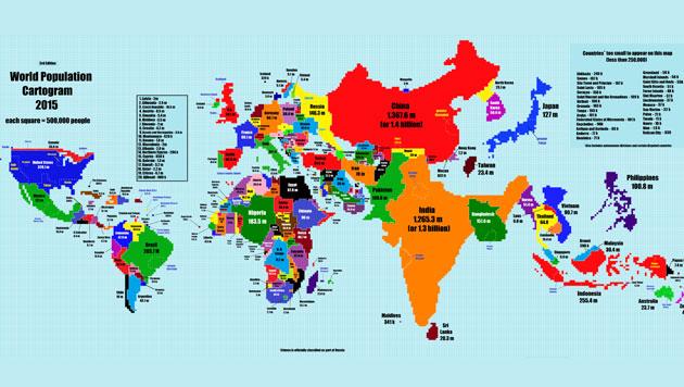 Größe Länder