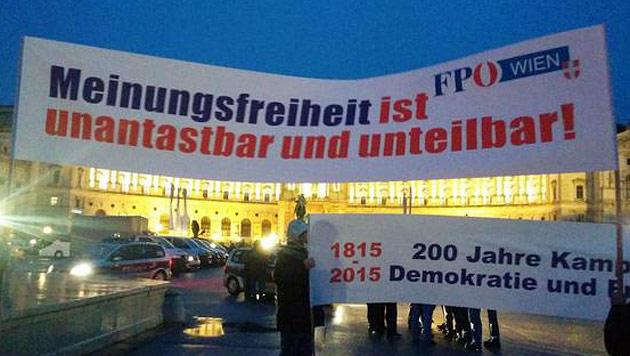 """""""Tretgitter fehlen"""": FP in Sorge um Akademikerball (Bild: twitter.com/Christoph Weiss)"""