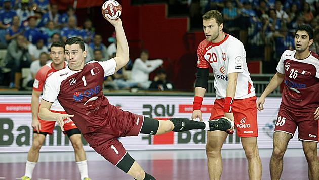 31:29 gegen Polen: ÖHB-Albtraum Katar im Finale (Bild: APA/Qatar 2015 via epa/Guillaume Horcajuelo)
