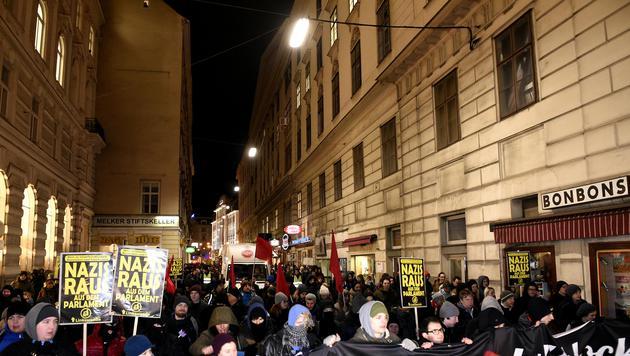 Alle Bilder der Protestaktionen in Wien (Bild: HERBERT P.OCZERET)