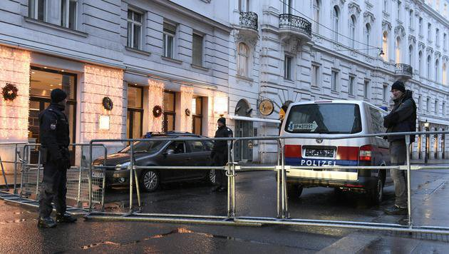 Alle Bilder der Protestaktionen in Wien (Bild: APA/HERBERT P. OCZERET)