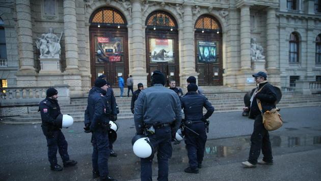 Alle Bilder der Protestaktionen in Wien (Bild: Peter Tomschi)