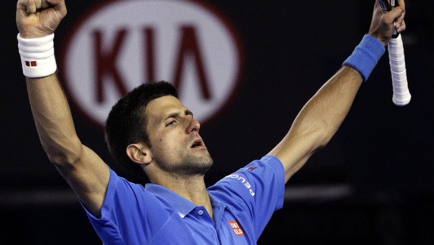 Novak Djokovic kämpft sich ins Finale (Bild: AP)