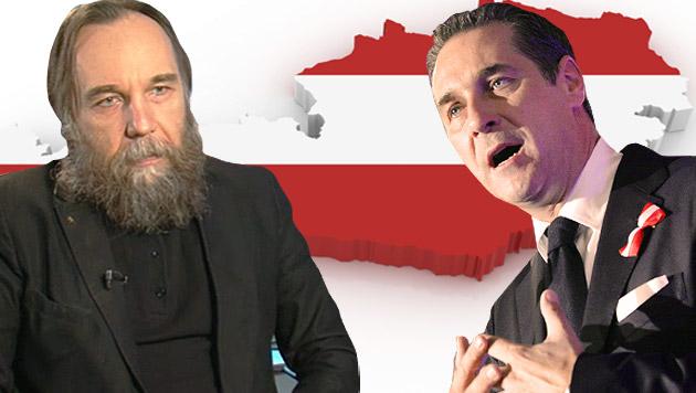 """""""Österreich auflösen und in Großreich integrieren"""" (Bild: APA/HANS KLAUS TECHT, http://russia.ru/hero/dugin/)"""