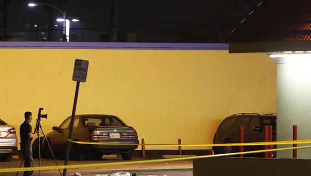 Der Rap-Mogul Suge Knight soll mit seinem Truck zwei Männer überfahren haben. (Bild: AP)
