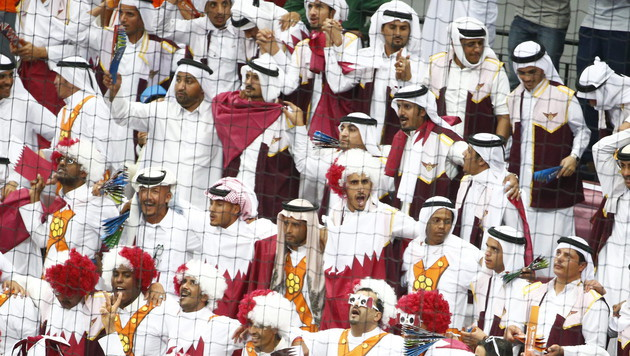 Drauf gepfiffen - die bitterböse WM-Farce in Katar (Bild: APA/Qatar 2015 via epa/Diego Azubel)