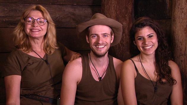 Die drei Finalisten Maren Gilzer (l.), Jörn Schlönvoigt und Tanja Tischewitsch (Bild: RTL)