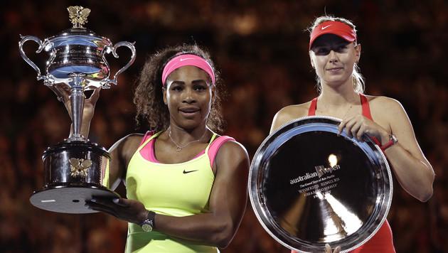 Serena Williams erneut die Königin von Australien (Bild: AP)