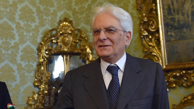 Sergio Mattarella, Italien: Präsident und Streitschlichter (Bild: APA/EPA/ETTORE FERRARI)