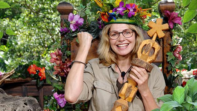 Maren Gilzer ist Dschungelkönigin 2015 (Bild: RTL/Stefan Menne)
