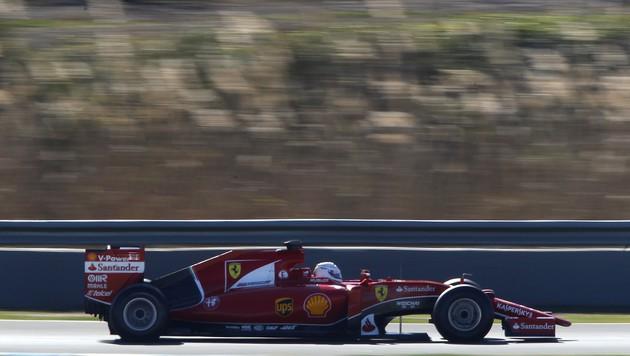 """Vettel: """"Vertraue am meisten meinem Po!"""" (Bild: AP)"""